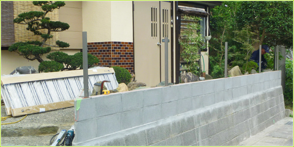静岡県湖西市S様邸 フェンス設置|有限会社ノズコン
