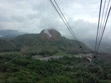 ロープウェイからの昭和新山