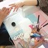 スクール☆ラメグラデーションの練習の画像