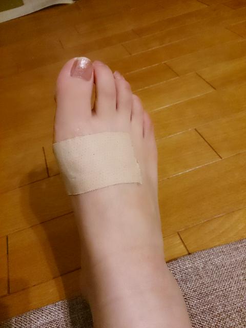 靴擦れ防止には、、、。(追記あり)|あのね。