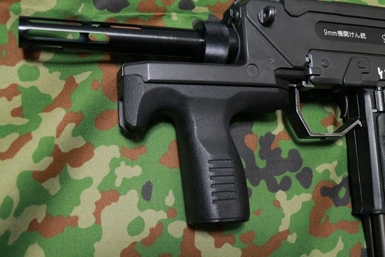 ちょんまげインプの部屋my銃紹介その13・陸上自衛隊9mm機関拳銃(KSC製MAC11内蔵版ガレージキット)