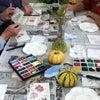 デイサービスはがき絵教室へ(9月)・・・No.428の画像