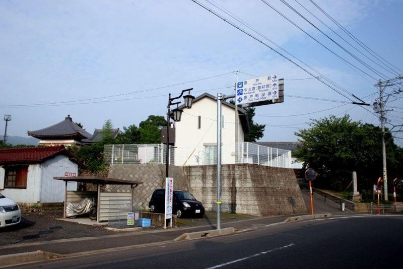 垂井城/①南東から