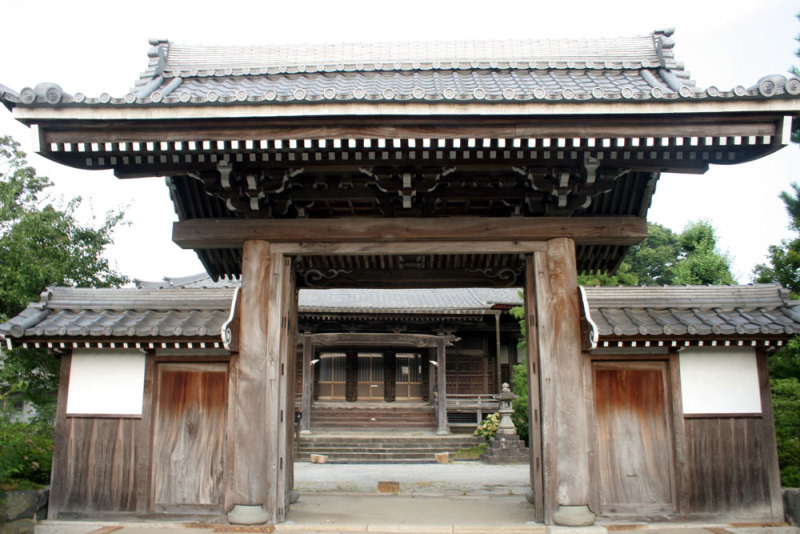 府中城/③安立寺の山門
