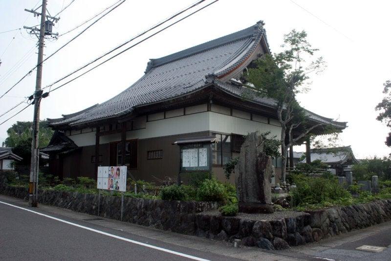 府中城/①道はお寺の裏側