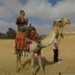 ドバイ経由でエジプト…