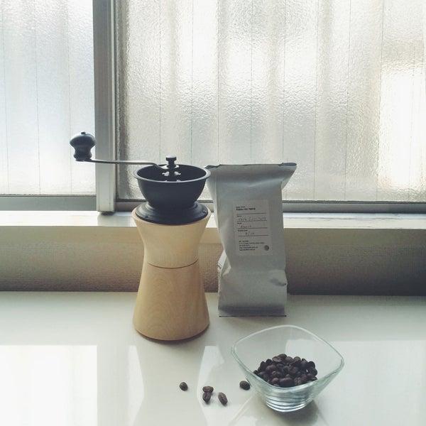 MokuNeji×Kalita COFFEE MILL 手挽きコーヒーミル