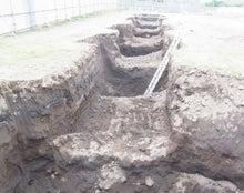 基礎掘削工事