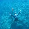 沖縄は秋の気配…キレイな海で青の洞窟シュノーケル(*'ω'*)の画像