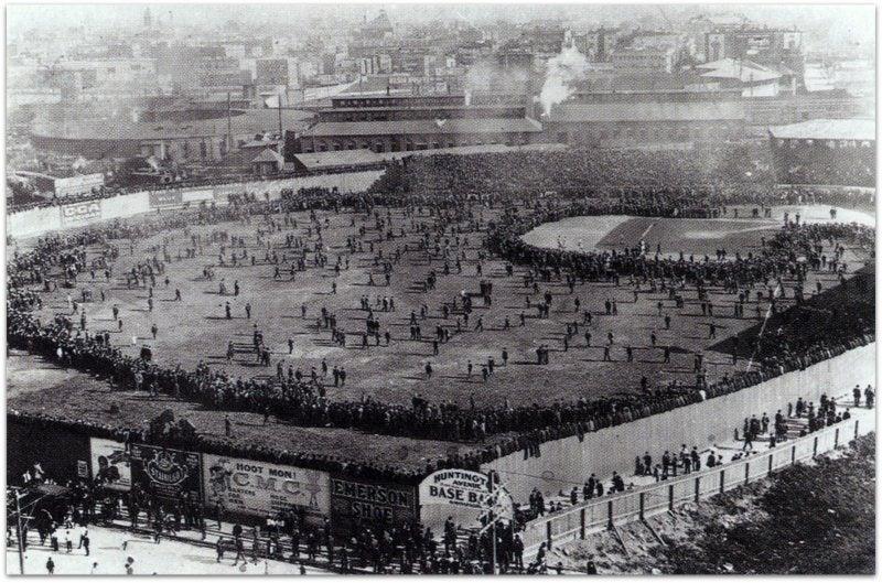 10月1日は1903年大リーグワールドシリーズが始まった日。 | 野球伝説 ...