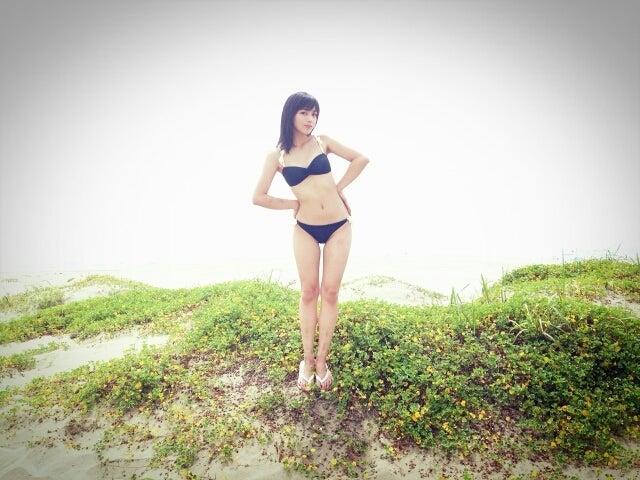 川口春奈さんの水着