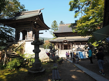 2014092728稲刈りツアー49圓蔵寺へ