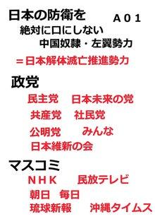 日本の防衛放棄勢力
