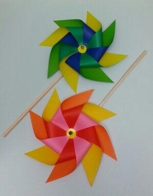 クリスマス 折り紙 折り紙 風車 作り方 : ameblo.jp