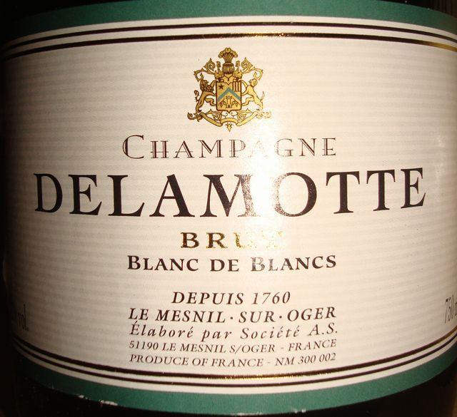 Delamotte Brut Blanc De Blancs