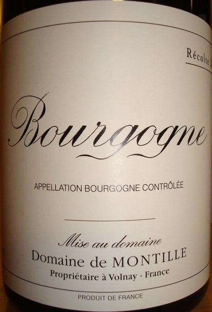 Bourgogne Domaine de Montille 2002