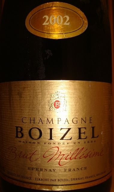 Boizel Brut Millesime 2002