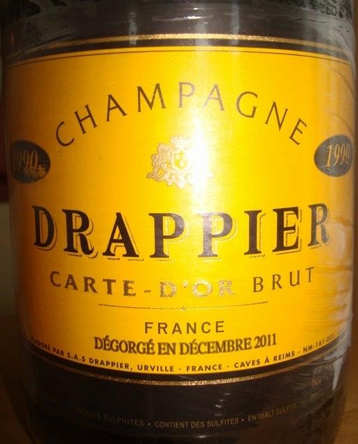 Drappier Carte Dor Brut 1990