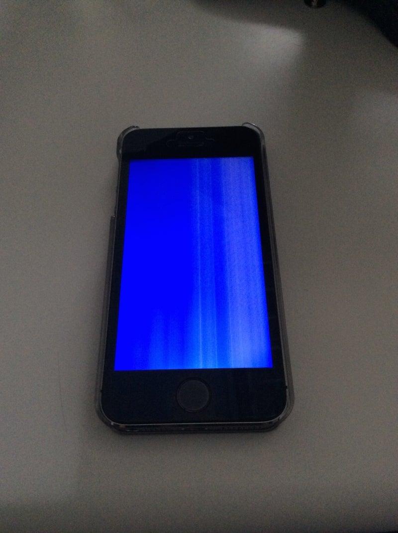 「iphone ブルースクリーン」の画像検索結果