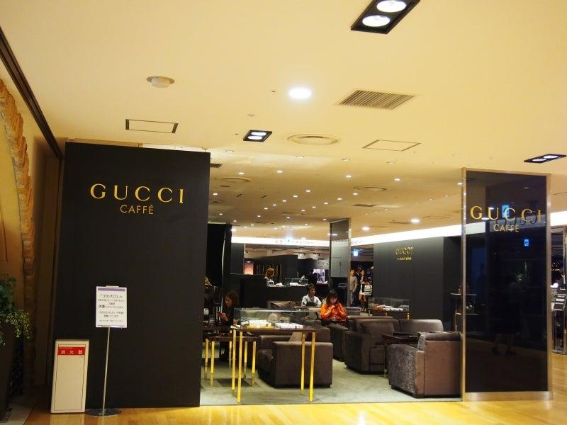 pretty nice 82fc8 9f7e2 阪急百貨店うめだ本店で出店中のGUCCI CAFFEで極上のティラミス ...