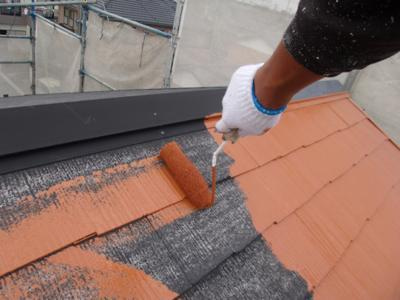 屋根塗装 KFスーパーセラ