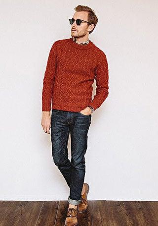 深みのある色使いが秋らしい着こなし|ビタ男必見!ビター系メンズセレブファッション情報サイト「Atractivo」