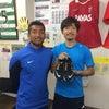 浦安SC選手達から誕生日プレゼントの画像
