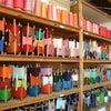 絹糸で機織り体験。その1石見に行こうプロジェクトの画像