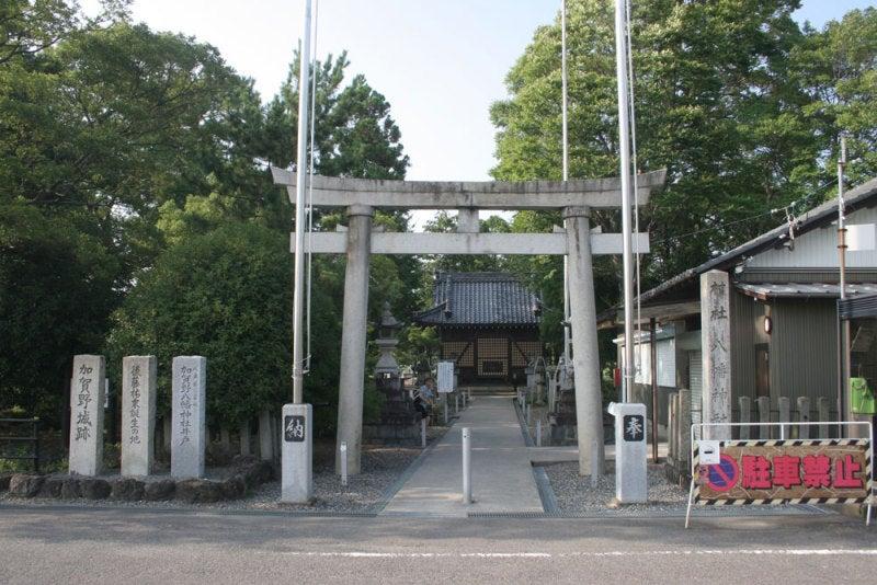 加賀野城/①八幡神社