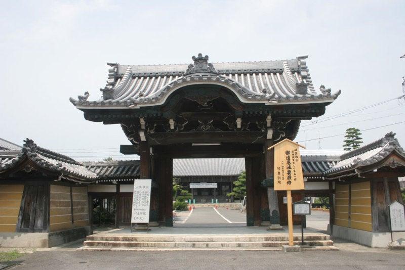 竹ヶ鼻城/②本覚寺の山門