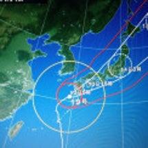 台風接近!