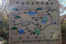 神仙沼 標識