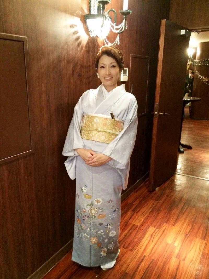 色留袖を親族結婚式に☆フォーマル着物コーデ