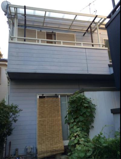 外壁塗装施工前