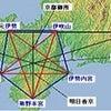 日本のレイラインを繋ぐことの画像