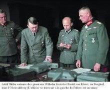 最高司令部総長ヴィルヘルム・ボ...