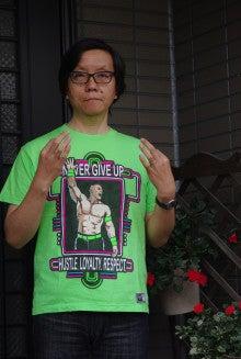 これがそのジョン・シナのTシャツ!