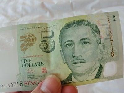 5ドル紙幣