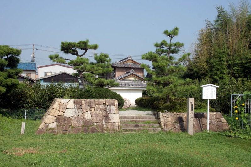 美江寺城/②城址碑と説明板