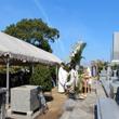 陸軍墓地慰霊祭