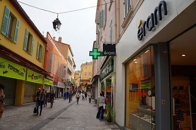 カンヌの旧市街