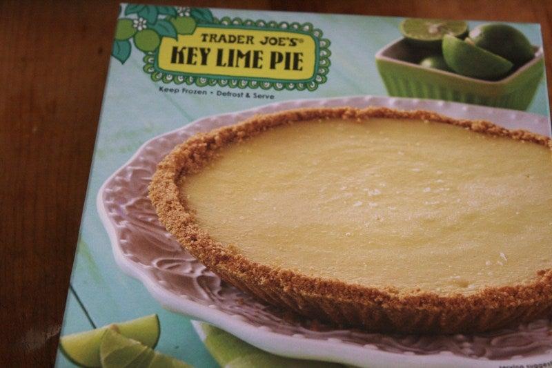 trader joe's key lime pie