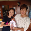 赤ちゃんと一緒にローフードの画像