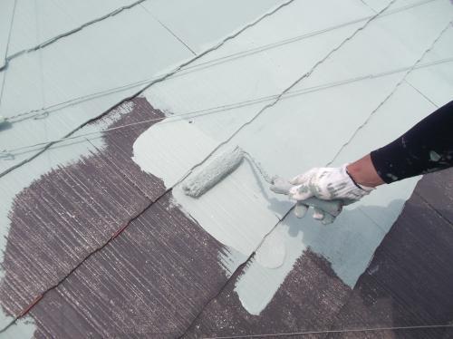 ガイナ屋根塗装