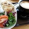 CAFFE PASCUCCI で驚くほど大きなカプチーノ!の画像