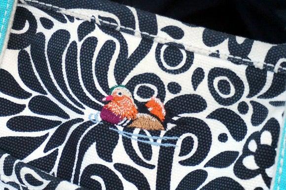 ランズエンド 刺繍トートバッグ