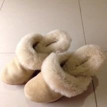 冬のサンダル♡