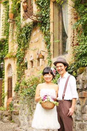 ぬくもりの森でハッピーウェディングフォト ホワイトベル浜松 静岡 浜松 少人数結婚式 フォトウェディング のホワイトベル浜松