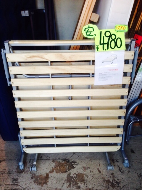 ニトリの中古折りたたみスノコベッド販売中❗   青森市のリサイクル