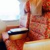 九州新幹線の内装が綺麗です。の画像